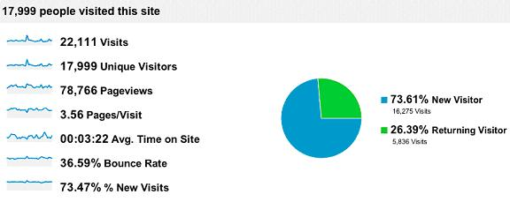 Analyzing SEO results